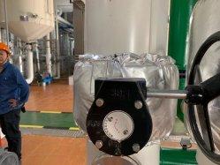 Rivestimento smontabile termoresistente dell'isolamento termico del coperchio dell'isolamento delle valvole di globo