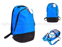 Piscina Desporto futebol basquetebol Futebol Bola de Beisebol Saco mochila calçados com compartimento de vestuário