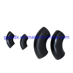 السعر التنافسي A234 Wpb Bend 90 درجة ملاءمة ASTM A420 GR Wpl6 المرفق