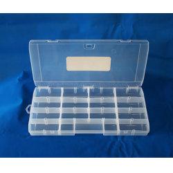31 Compartimento ajustável para mala prática para anéis de cordão de joalharia