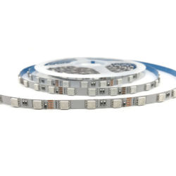 6mm SMD5050 60LEDs 12VDC/24VDC Ultrathin 소폭 RGB 유연한 LED 지구