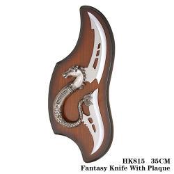 Cuchilla de metal de la cuchilla de la fantasía de artesanía artesanía HK815 35cm.