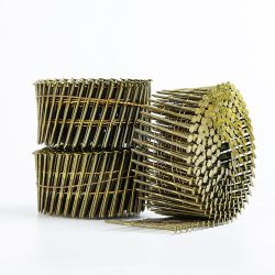 Draht-Ring-Ladeplatte nagelt Ring-Schrauben-Spirale-Schaft