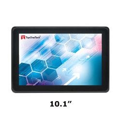 10.1 10 Pol industrial com estrutura aberta Pcap múltiplos pontos de 10 capacitivos de toque do Sensor de tela sensível ao toque do visor do monitor de LCD LED de filme com porta de Interface Hdm VGA DVI