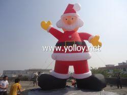 Подгонянный размер раздувное Санта для торжества рождества