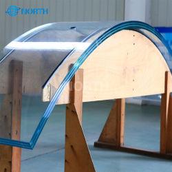 5mm de 6mm 8mm 10mm 12mm 15mm 19mm 22mm épais clair refoulées trempé le verre trempé incurvée avec ce mur rideau SGCC de certification pour Windows portes bâtiment
