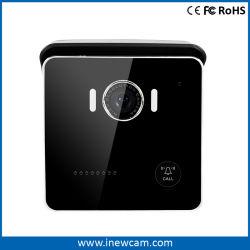 Caméra vidéo à distance sans fil WiFi Téléphone Sonnette de Porte de sécurité du moniteur d'Intercom