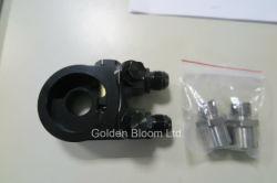 Blocchetto a distanza del filtro dell'olio con il termostato