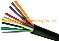 Круглый Подвесной кабель с поддержкой стальная проволока