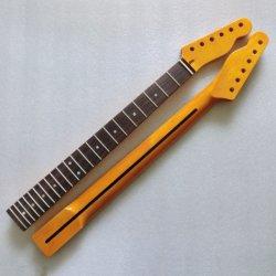 DIY Telecaster Guitars를 위한 고광택 마감 전기 기타 넥