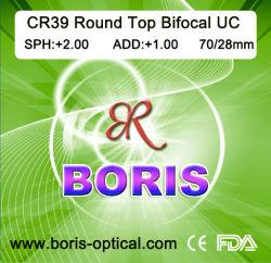 Cr39 Ronda 1.499 Comienzo UC Bifocal 70/28mm Óptica