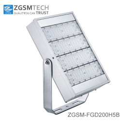 Barato preço 200W Floodlighting LED com chips e Meanwell Lumileds