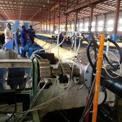 De HDPE um passo em espuma de PU Máquina para Tubo de Aço de máquinas para produção de isolamento