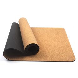 Китай производитель Eco Корк фитнес-йога коврик высокого качества из термоэластопласта Non-Slip Йога коврик