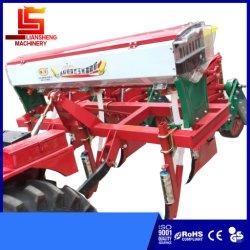 De vierwielige Multifunctionele Zaaimachine van de Precisie van de Zaaimachine van het Graan van de Tractor Achteraan gemonteerde, het Gravende Bevruchten, Zaaien, Behandelen van de Grond en het Samenpersen Alle Machine