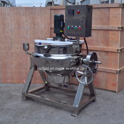 Het beklede Elektrische het Verwarmen Induatrial Overhellende Kooktoestel van het Sap van het Roestvrij staal