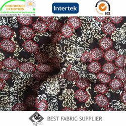 100%年のポリエステルは75D柔らかいDress Skirt Shirt Fabricをシフォンによって印刷されるファブリック女性の薄くする