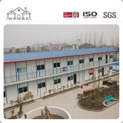Maison préfabriquée Camp légère en acier pour les travailleurs de construction