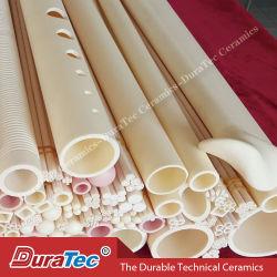 Tube en céramique d'alumine avancée Tube de protection de thermocouple T99 T997 T92 Tube isolant