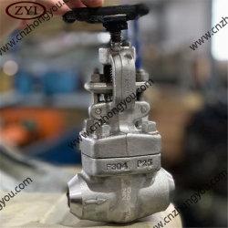 La forja de acero inoxidable Dúplex F51 de la válvula de globo
