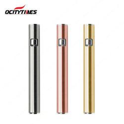 De nieuwe Producten namen de Gouden Batterij van Cbd van 510 Verstuiver met Veranderlijk Voltage toe (S3)