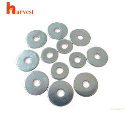 Commerce de gros en acier inoxydable poli de fines rondelles plates M8