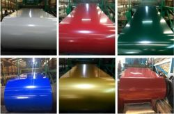 De Rol van het Staal van de Vervaardiging PPGI van de fabriek, Met een laag bedekt en het Vooraf geverfte Kleur Gegalvaniseerde Broodje van het Staal PPGI