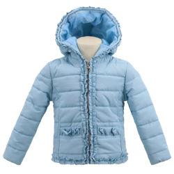Оптовая торговля полиэстер детей куртка с капотом последней мини водонепроницаемую куртку для девочек