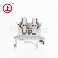 Terminal roscado UK2.5 electrónica tipo de conector de riel DIN universal