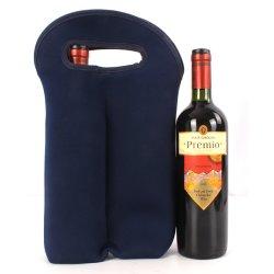 Luva de vinho com suporte corada Neoprene