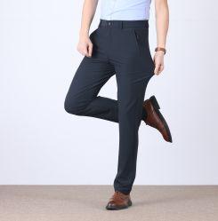 Epusenの服装熱い販売法の卸売のカスタム屋外の偶然のPloyesterのズボンの実業家の伸縮性があるまっすぐなズボン
