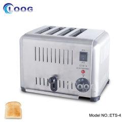 تجاريّة خبز قالب تجهيز كهربائيّة خبز سندويتش محمّصة آلة جيّدة 4 شريحة محمّصة لأنّ مطعم