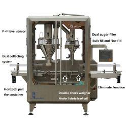 유장 단백질 우유 분말 충전물 기계를 병에 넣을 수 있다
