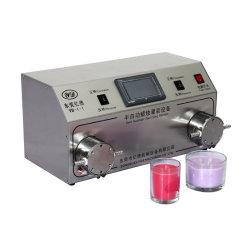 Semi-auto Wax Candle Double Pump Fill machine Fragrance Parfume fles Zeep warm houden