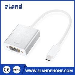 USB USB 3.1-C USB Tipo C A VGA hembra Converter