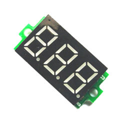 Voltímetro digital LED Mini 2/3 fios Medidor de Tensão amperímetro