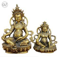 Het Standbeeld van Boedha India Godsdienstig voor de Decoratie van het Huis