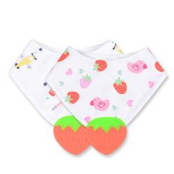 Van de Katoenen van de Handdoek van de Driehoek van de baby Slab de Dubbele Handdoek van het Speeksel
