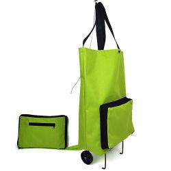 سوق بقالة قابل لإعادة الاستخدام سوق بقالة وسوبرماركت محل حامل متحرك للنساء حقيبة تسوق
