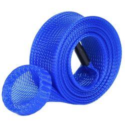 ペット拡張可能編みこみの配線織機PVCコンジットの管の釣ざおカバー