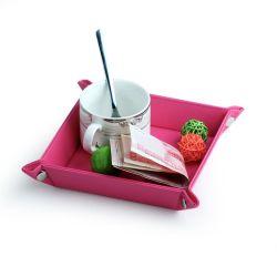 회전 거푸집 게임을%s 정연한 폴딩 거푸집 쟁반 PU 가죽 쟁반, Rpg, Dnd 의 사탕 저장 상자 홀더