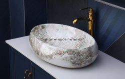 منصة خزفية منصة حوض الغسيل نموذج حمام تصميم حوض غسيل