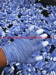 PU покрытием Fingertip перчатки красочные
