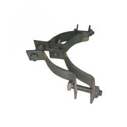 Morsetto di fascia elettrico resistente elettrico d'acciaio galvanizzato dell'acciaio inossidabile di montaggio del Palo del TUFFO caldo