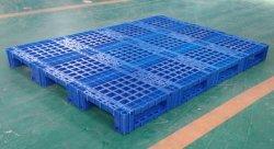 Carga pesada de apilamiento resistente de almacén de muebles de palets de plástico grande