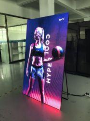 P2.5mm Slim y 28kg perfecta de aluminio en color montaje en pared Pantalla LED para la sala de exposiciones de carteles digitales