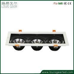 Gitter-Lichter des 3 Jahr-Garantie vertiefte Decken-Quadrat-Risiko-Licht-3*12W LED