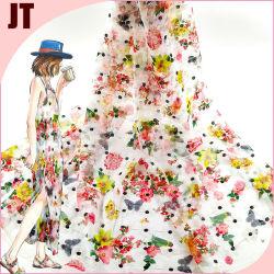 2021 라체 직물 자수 끈 3 mm의 라스 핫 스탬핑 여성용 폴리에스테르 세쿼인 웨딩 이브닝 드레스