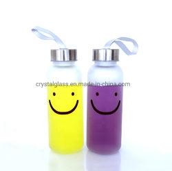 Mineralwasser-Verpackungs-Flaschenglas des Soem-Firmenzeichen-Drucken-300ml