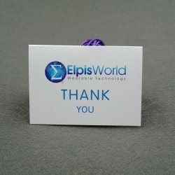 جودة جيدة مخصص شكرا لك لشراء بطاقات يدويا شكرا لقد قمت بالبطاقة